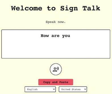 speech to text