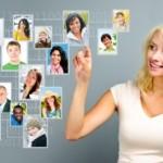Women are the main reason behind social media success