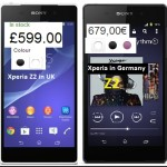 Sony launches Xperia Z2 in Europe