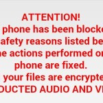 Virus for Android device that asks to pay $300