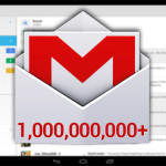 Gmail for Android has become the first app to reach one billion downloads