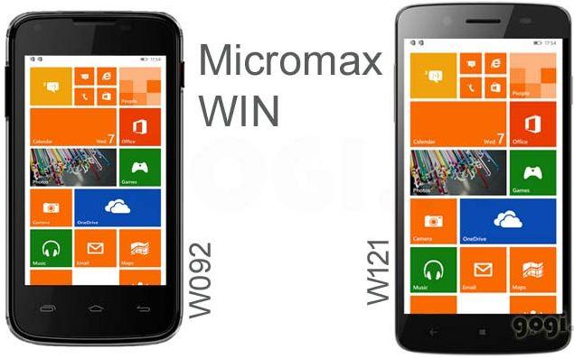 Micromax Win Series