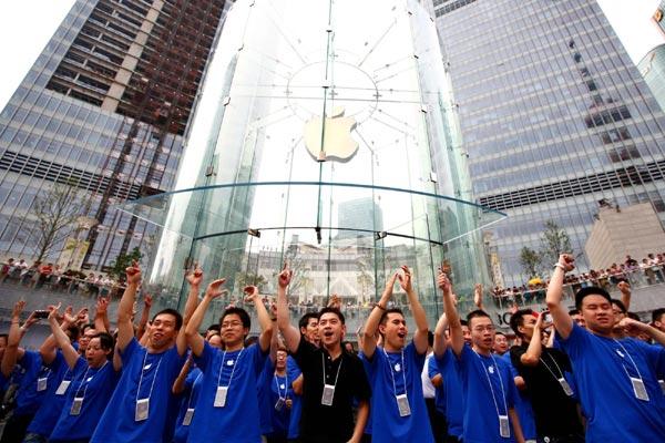 Apple iPhone sales