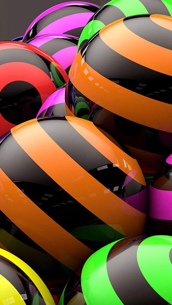 abstract ball wallpaper