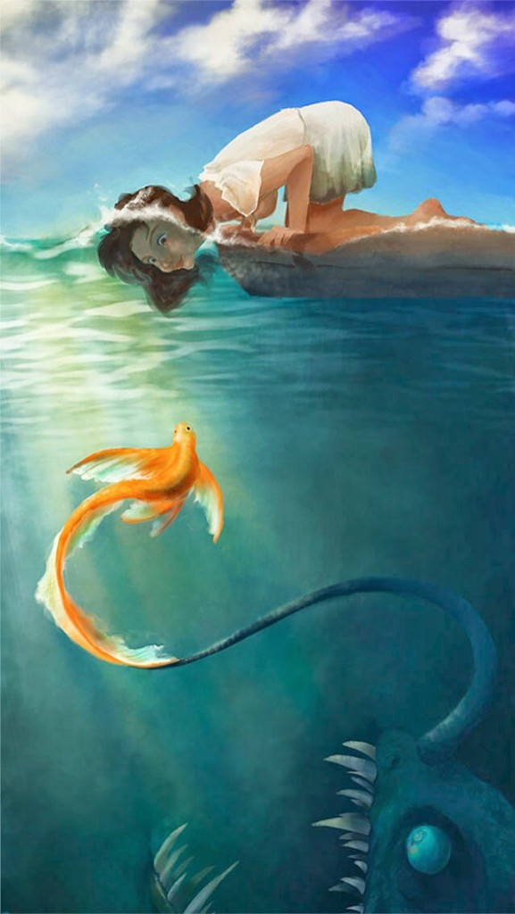 fairy mermaid wallpaper