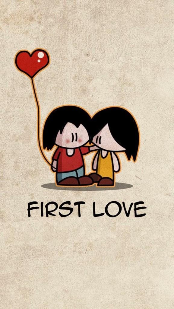 first love wallpaper