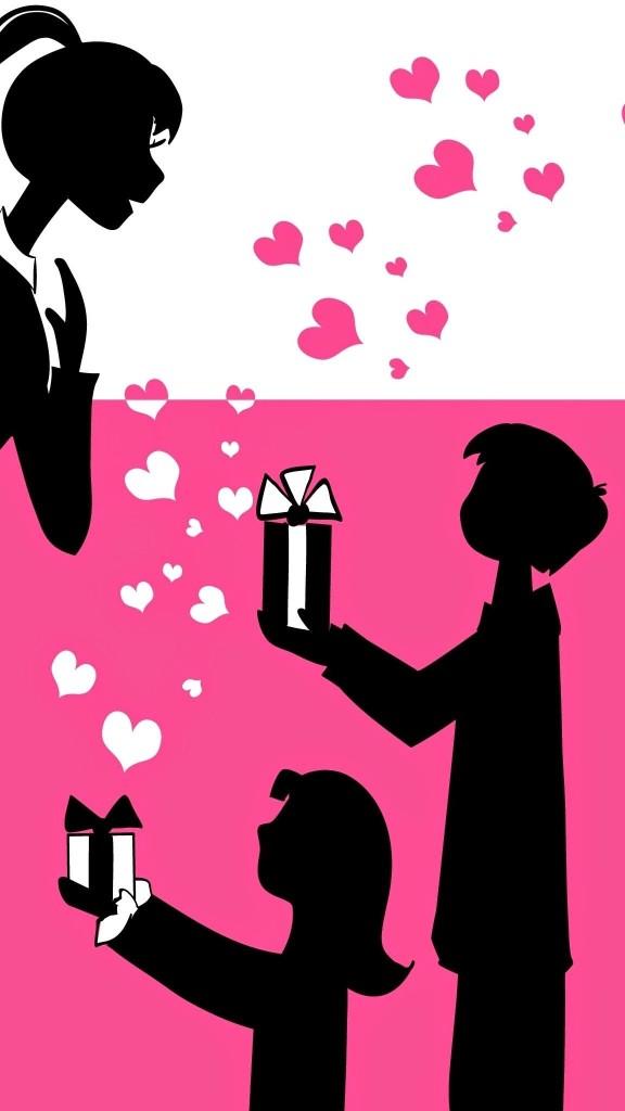 Love heart walllpaper