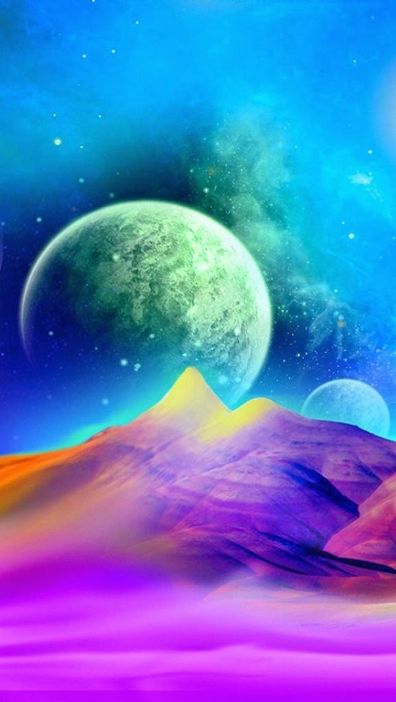colorfull univere