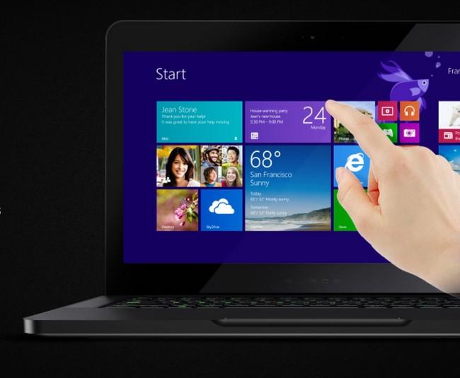 razer blade qhd+ gaming laptop touch