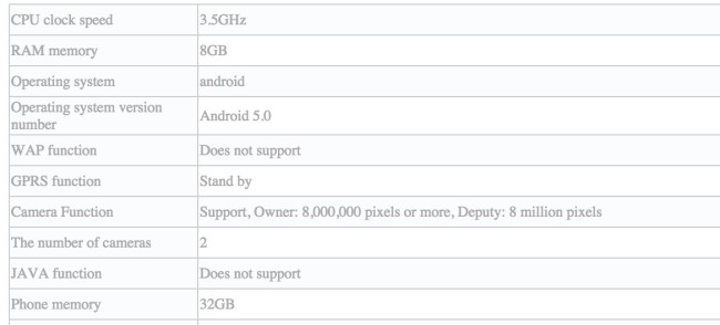 zte nubia 8 GB RAM smartphone1