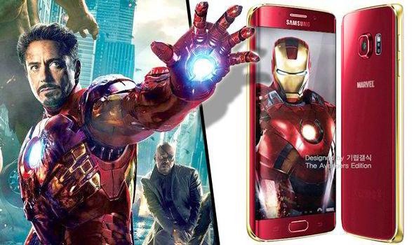 Iron Man version of galaxy s6