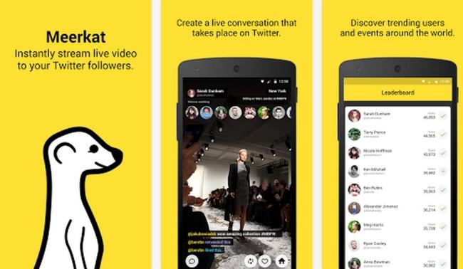 Live Video Streaming App MeerKat