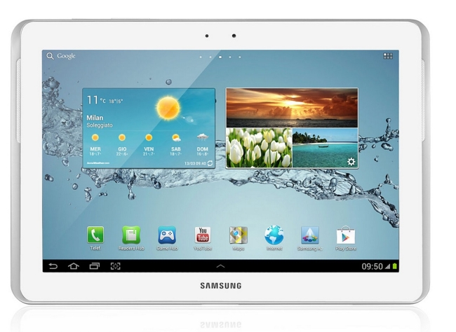 Samsung Tablet with 4GB RAM and intel atom processor