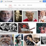 Modi appears More than 50 times under top 10 criminal list in Google's image search