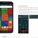 Verizon Moto X 2nd Gen receives Android 5.1 Lollipop Update