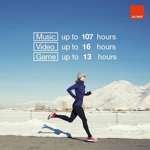 gionee marathon m4 talktime and standby