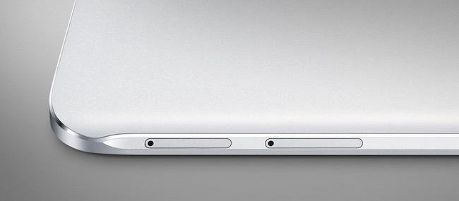 Samsung Galaxy A8 side sim slot