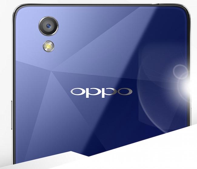 Oppo Mirror 5 in blue