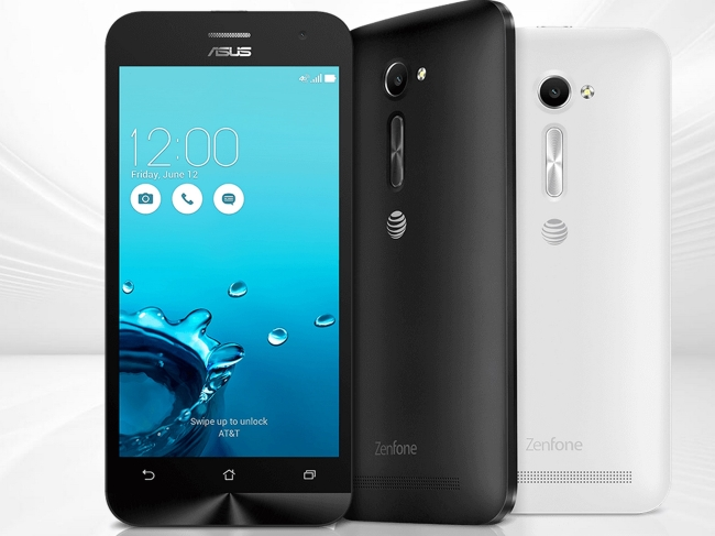 Asus Zenfone 2E : AT&T Exclusive Affordable Smartphone