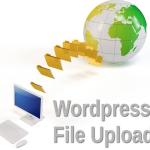 Upload large files on Wordpress Blog for free
