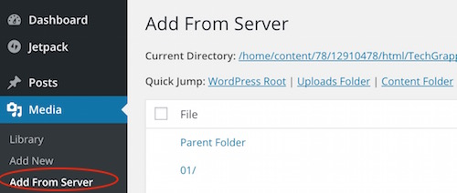 Upload large files on wordpress blog for free