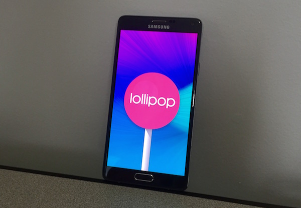 Android 5.1.1 update for Samsung Galaxy Note 4