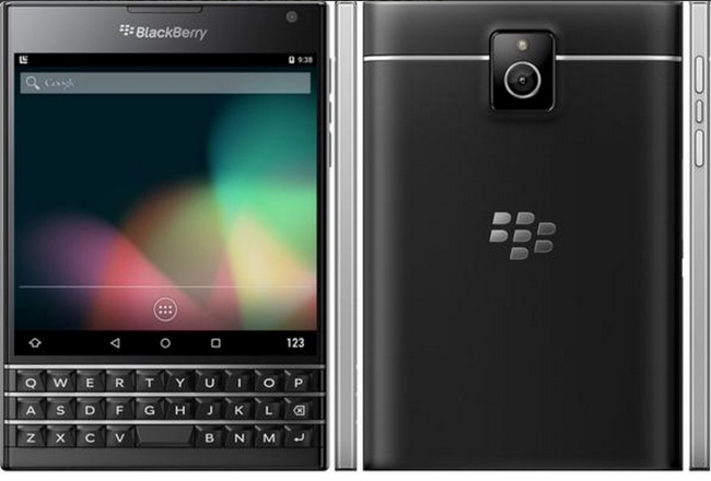 Android Based Blackberry venice leaked image