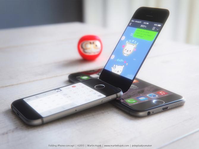 Folding iPhone 6