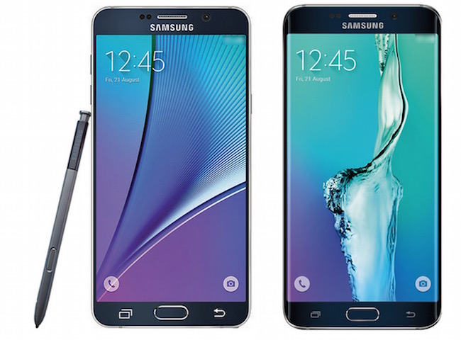Image of Galaxy Note 5 and S6 Edge plus