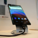 LG curved display mobile phone
