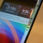 LG curved mobile phone launch date