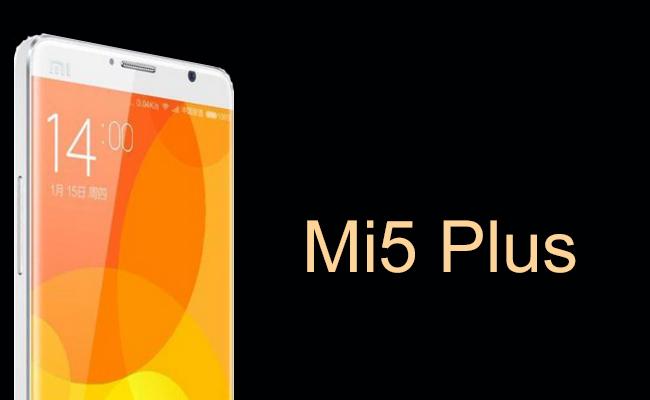 Leaked images of Xiaomi Mi5 Plus