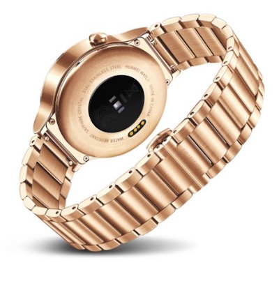 Preorder Huawei SmartWatch in gold color from amazon