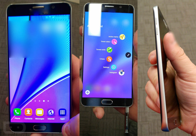 Samsun Galaxy Note 5 leaked Image