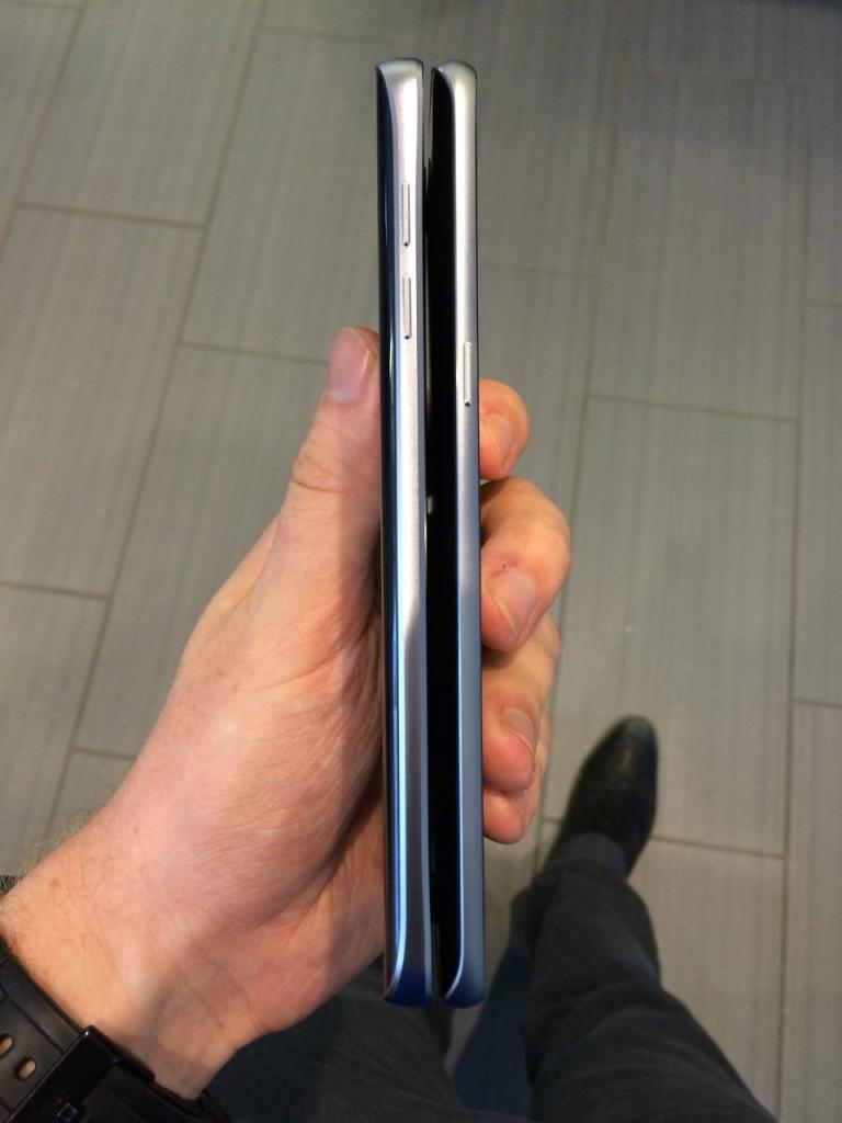 Samsung Galaxy Note 5 sides
