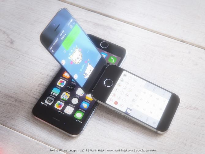 iPhone folding iPhone