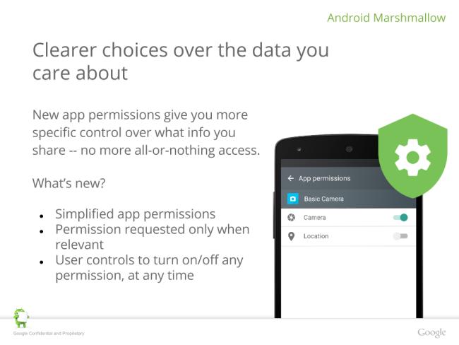 Google Nexus 6P Android 6 feature