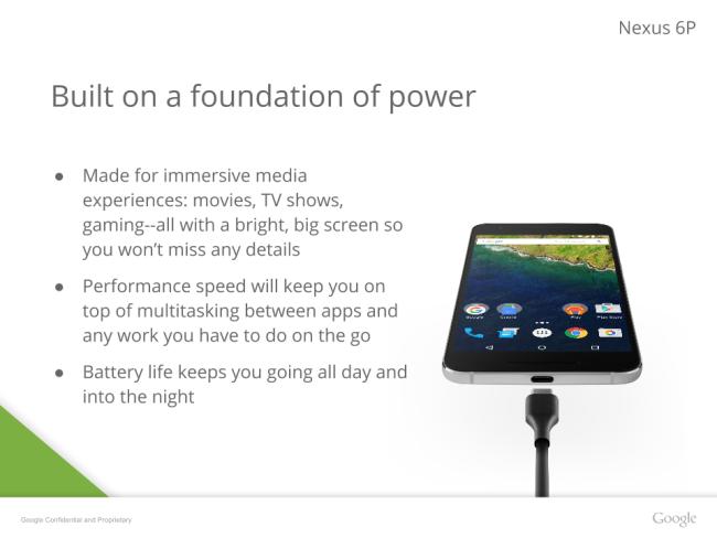 Google Nexus 6P connectivity
