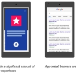 Google : Sites with App install interstitial act would loose Ranking