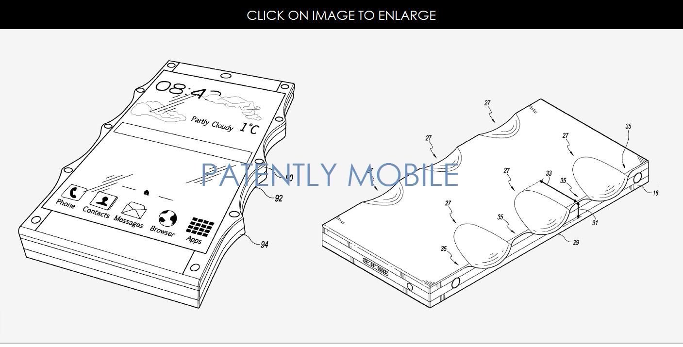 Google patents for finger print design case