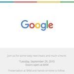 Huawei Nexus 6 and LG Nexus 5 launch date confirmed