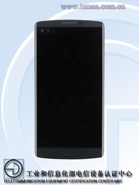LG V10 Front