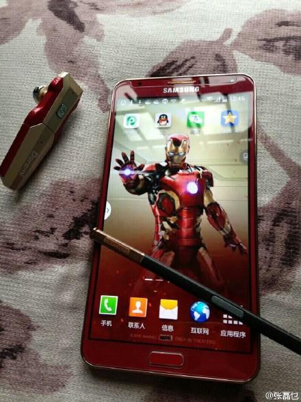 Note 3 Iron Man DIY