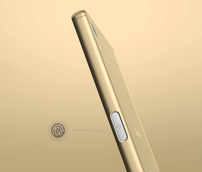 FInger Print Sensor in Xperia Z5