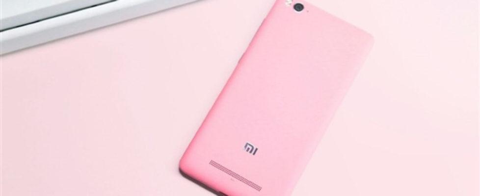 Xiaomi Mi 4c Pink Color