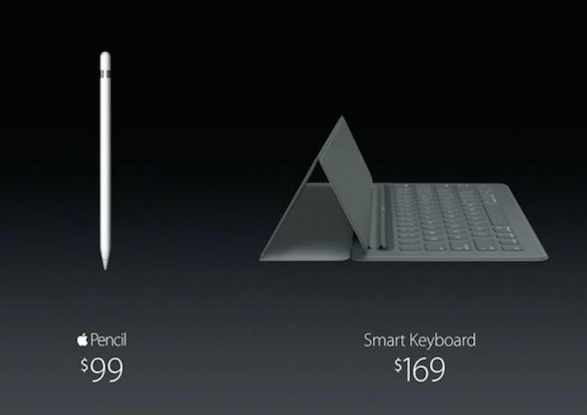 iPad Pro Keyboard and Apple Pen Price