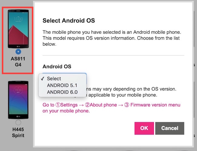 Android 6 marshmallow for LG G4
