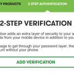 How to secure GoDaddy hosting account from hackers enabling two-step verification