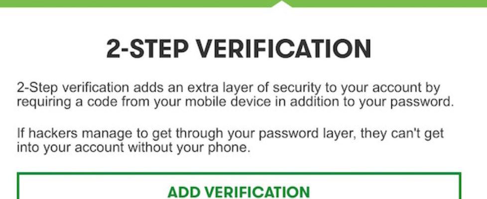 GoDaddy 2-step authentication