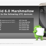 Which models of HTC mobiles getting Android 6 Marshmallow